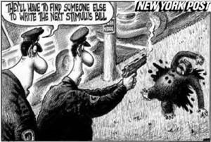 El New York Post pide disculpas por caricatura racista