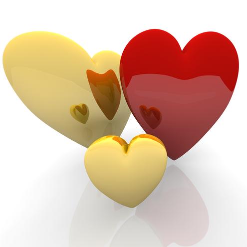 Wallpapers de corazones para el Día de San Valentín