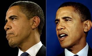 Obama empieza a encanecer