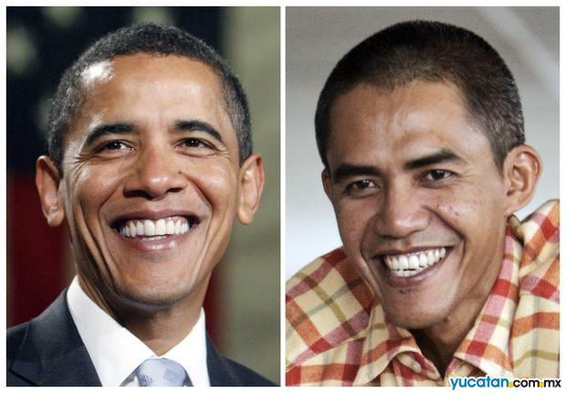 El doble mexicano de Barack Obama