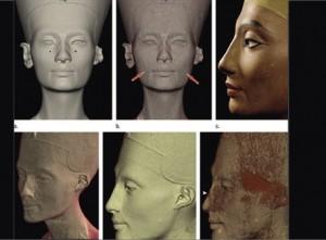 Se da a conocer el verdadero rostro de Nefertiti