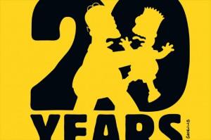 Los Simpson´s festejan sus 20 años