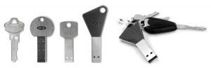 USB en forma de llave