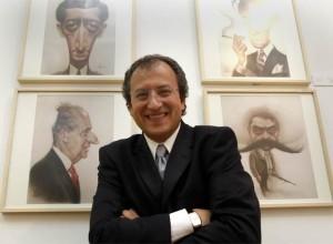 Exposición de las caricaturas de Carreño en Madrid