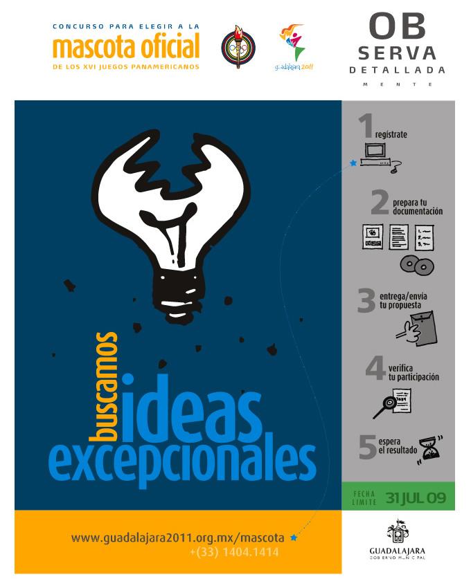 Participa en el Concurso de diseño de la Mascota de los Juegos Panamericanos
