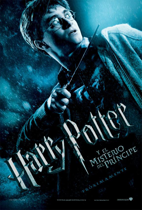 Posters oficiales de Harry Potter y el Misterio del Príncipe