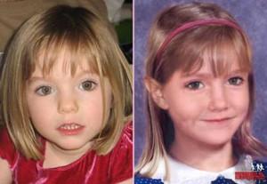 Madeleine a los 6 años de edad
