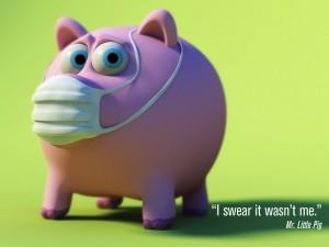 Wallpaper de la Influenza Porcina... lo que faltaba