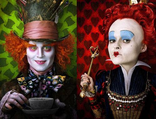 Primeras imágenes de Alicia en el País de las maravillas de Tim Burton