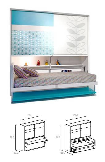 Excelente idea de escritorio y cama en uno