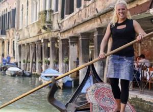 Por primera vez habrá una mujer gondolera en los canales de Venecia