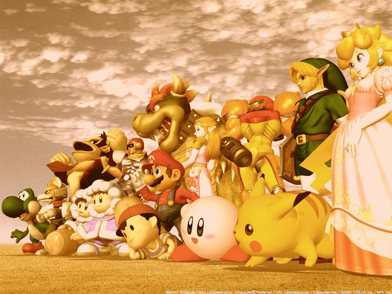 Recopilación de Wallpapers de personajes de videojuegos