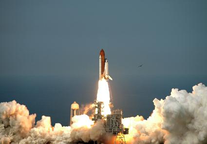 Por fin el Endeavour en camino a la Estación Espacial