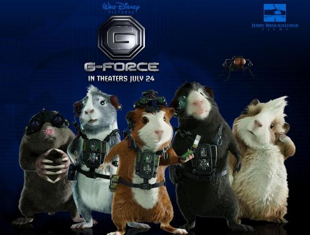 G-Force en primer lugar de taquilla