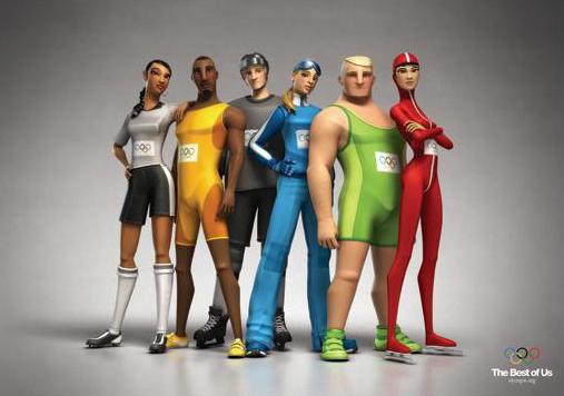 Comercial animado del Comité Olímpico Internacional