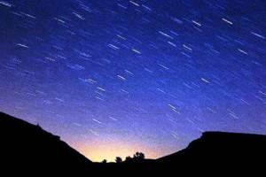 LLuvia de estrellas visible a simple vista