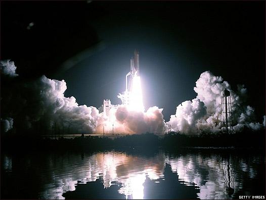 Imágenes del lanzamiento del Discovery