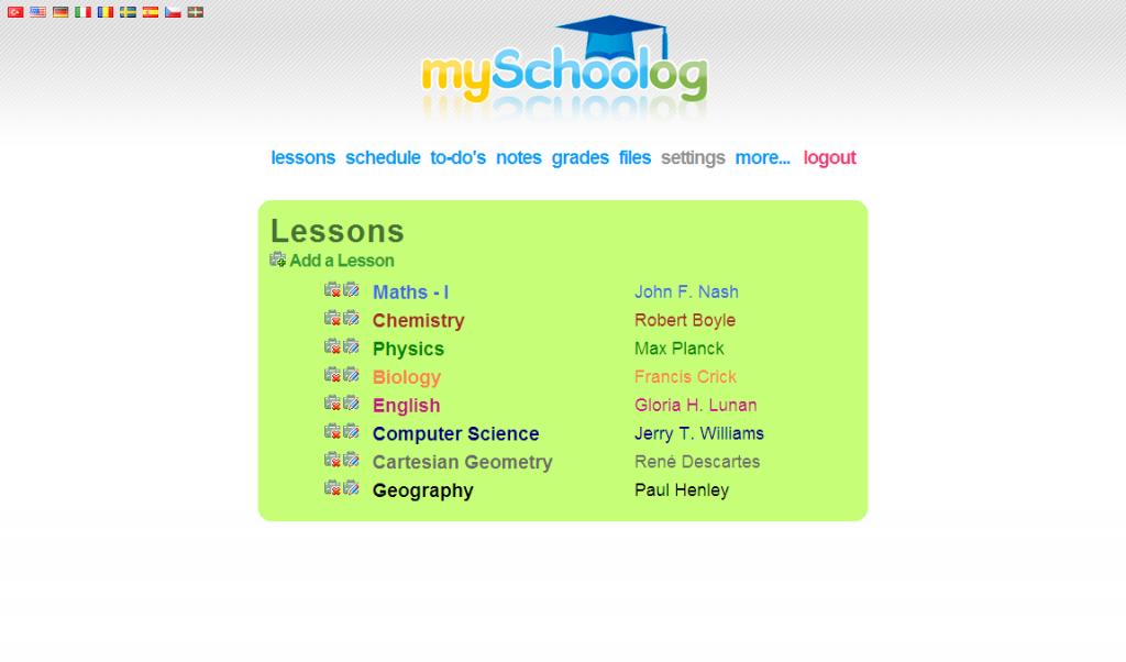 Mantén tu agenda escolar al día con MySchoolog