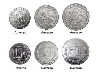 Nuevas monedas de acero inoxidable en México