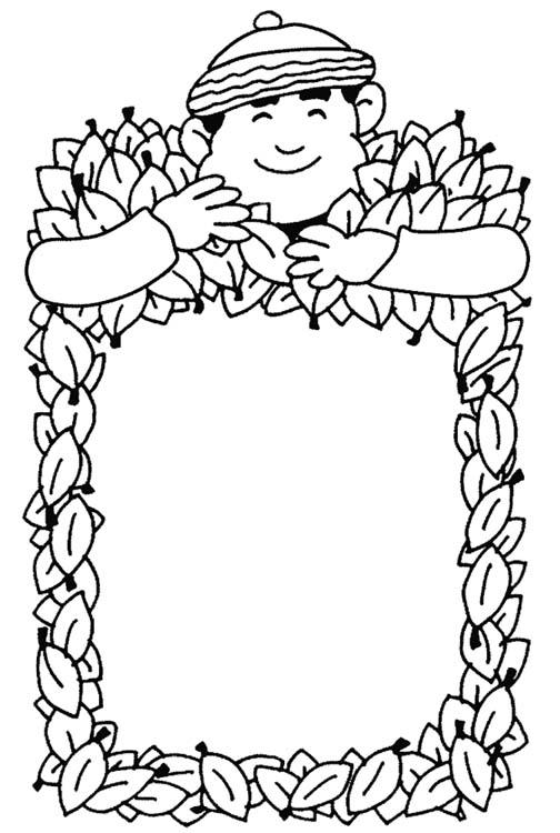 Recopilación de dibujos para colorear de otoño