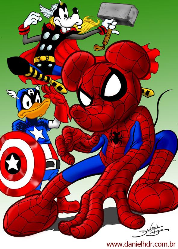 Humor para Disney-Marvel