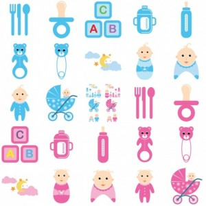 Imágenes para bebés en vectores