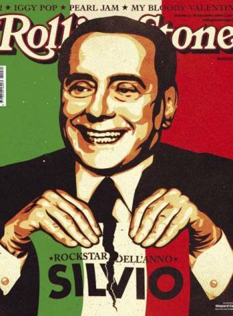 Berlusconi tiene su portada en Rolling Stone