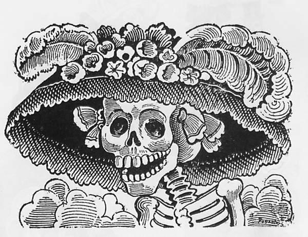 Dibujos para colorear del Día de Muertos