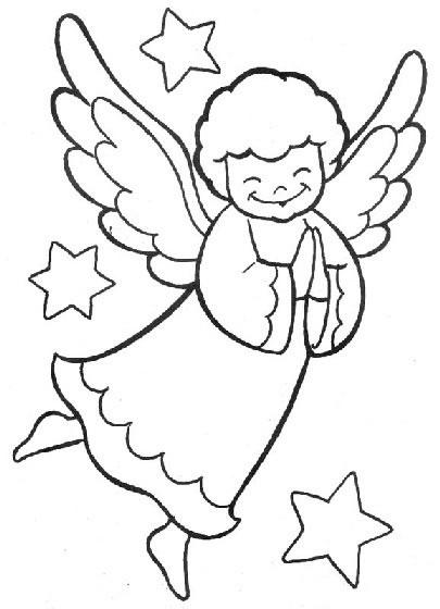 Recopilación de dibujos para colorear de ángeles