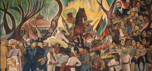 Los grandes muralistas y la Revolución Mexicana