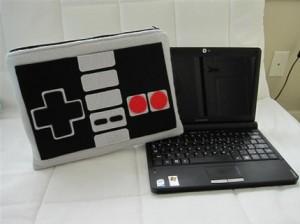Funda para Netbook para los amantes del NES