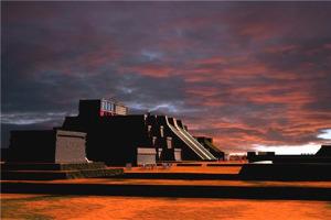 La Gran Tenochtitlán en recreación digital
