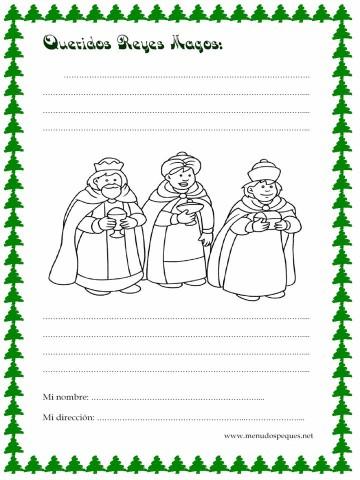 Los mejores modelos de Carta para los Reyes Magos