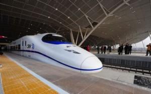 China tiene el tren más rápido del mundo