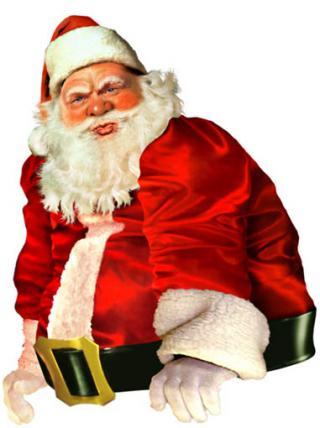 Santa Claus es mal ejemplo para la salud
