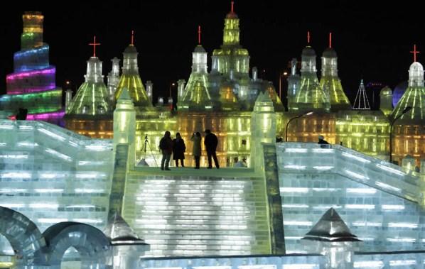 Espectacular el Festival de Hielo en Harbin 2010