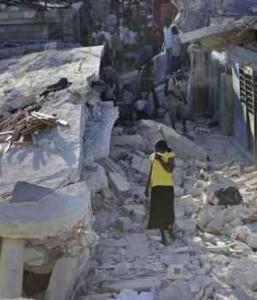 Haití completamente devastado