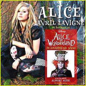 Alice: de Avril Lavigne tema de Alicia en el País de las Maravillas