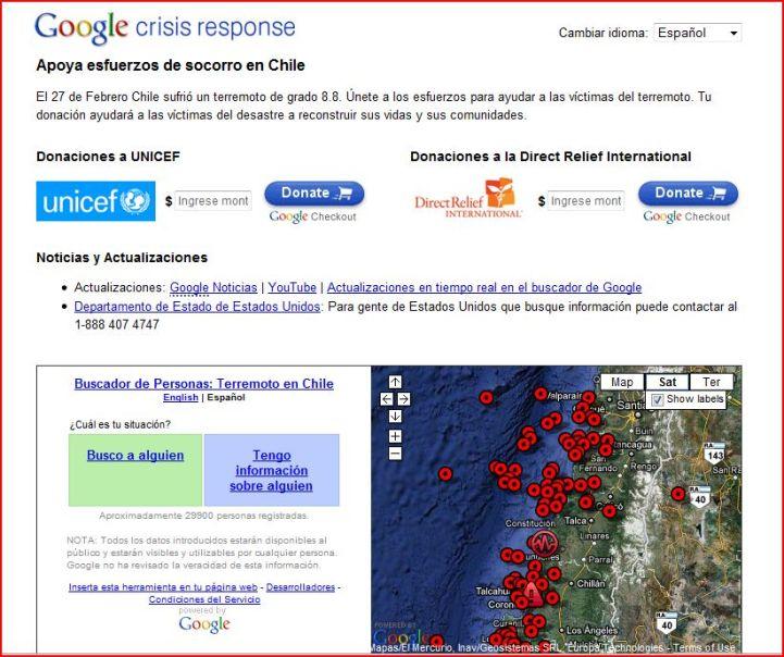 Aumenta el número de muertos en Chile por terremoto
