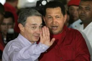 Uribe llamó cobarde a Chávez