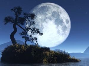 La Luna es de queso ... y de hielo