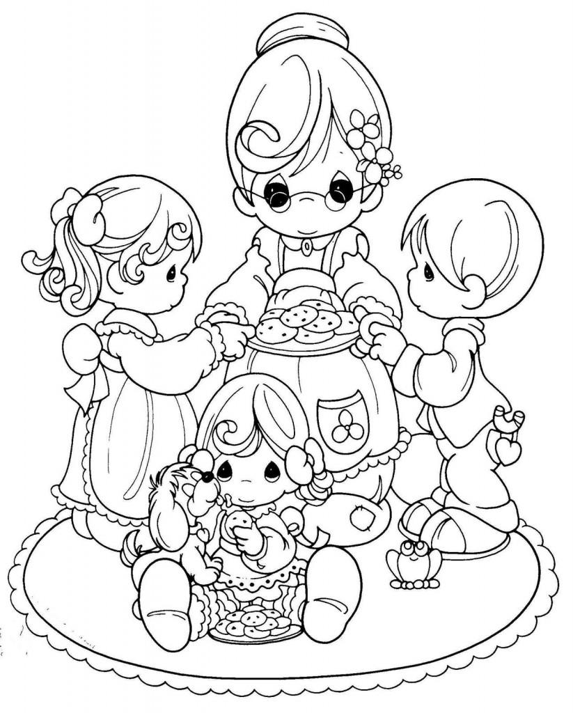 Recopilación de dibujos para colorear para el Día de las Madres