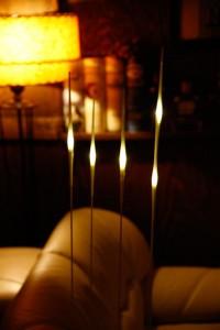 Lámpara japonesa para equilibar espacios