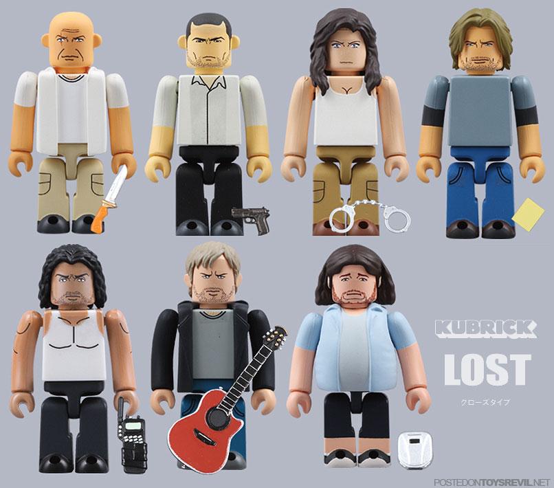 Muñecos de LOST para los fanáticos de la serie