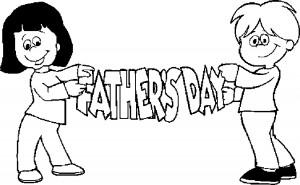 Dibujos para colorear para el Día del Padre