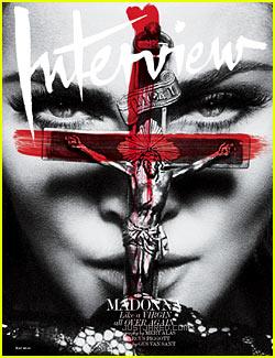 Madonna incomoda a los católicos al posar con un crucifijo