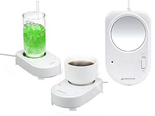 USB para mantener fría o caliente tu bebida