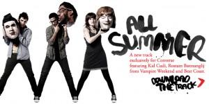 Gratis la nueva canción de Converse: All Summer