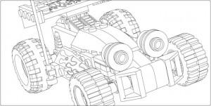 Recopilación de dibujos para colorear de LEGO