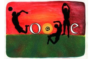 """Doodle de Google ganador de """"Me gusta el Fútbol"""""""